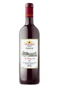 TOVUZ вино белое п/сухое